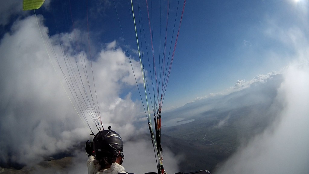 paragliding in ioannina